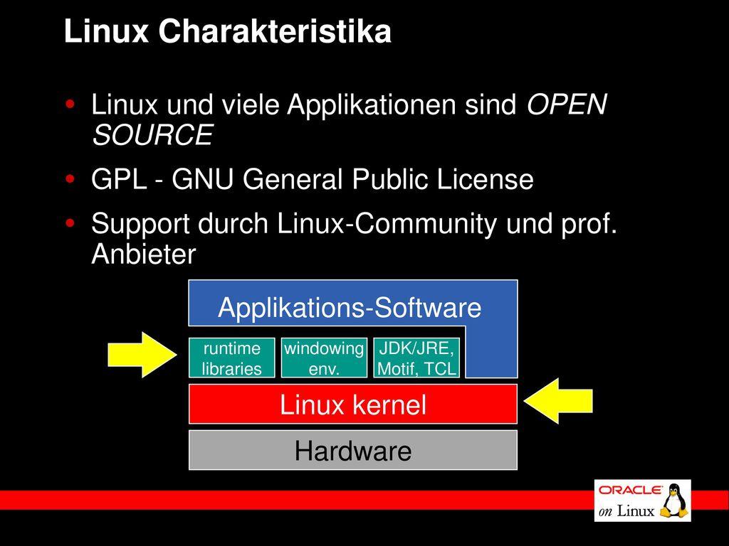 Linux Charakteristika