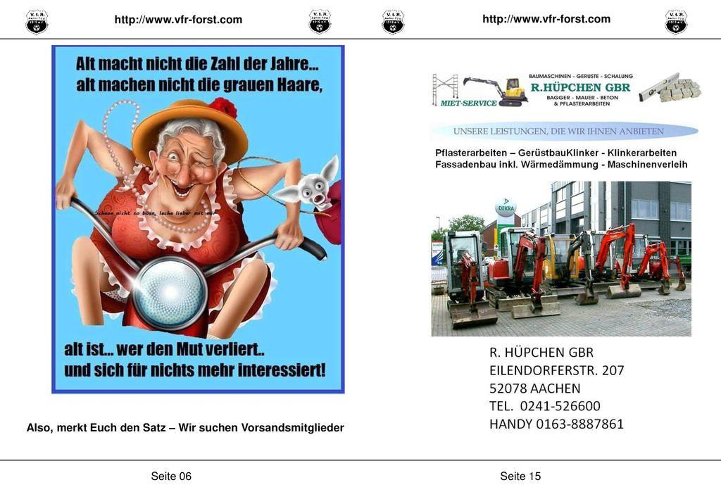 http://www.vfr-forst.com http://www.vfr-forst.com. Also, merkt Euch den Satz – Wir suchen Vorsandsmitglieder.