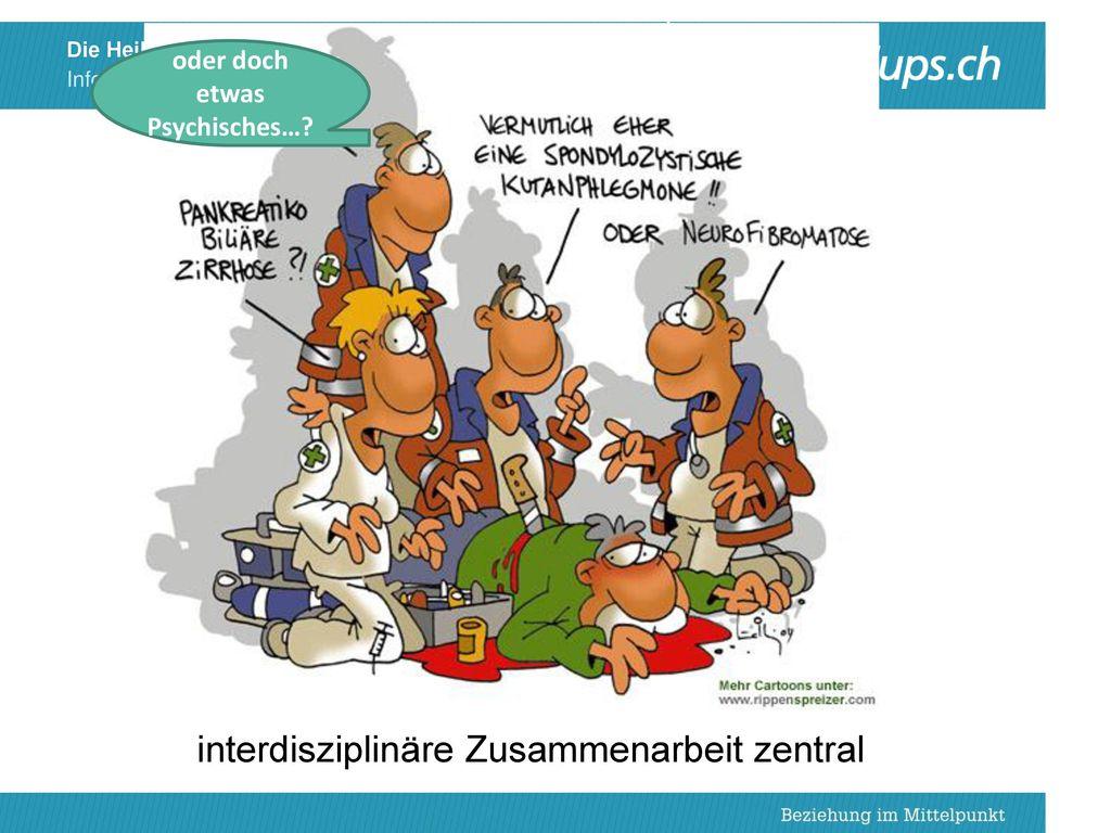 interdisziplinäre Zusammenarbeit zentral