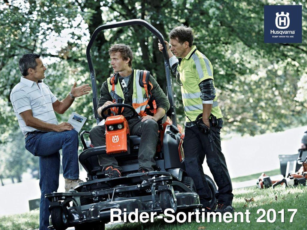 Rider-Sortiment 2017
