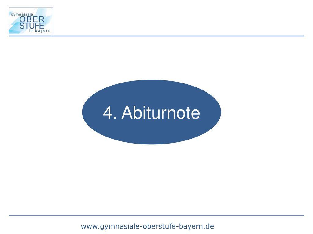 4. Abiturnote