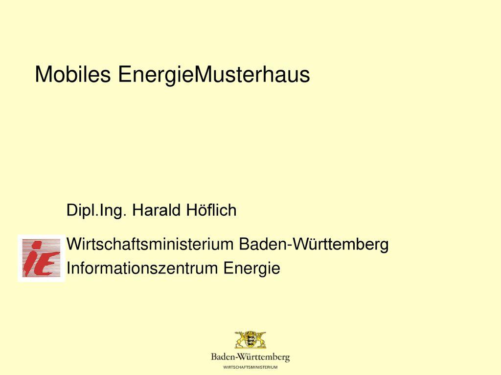 Mobiles EnergieMusterhaus