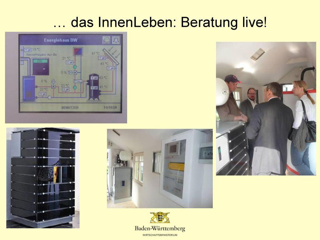 … das InnenLeben: Beratung live!