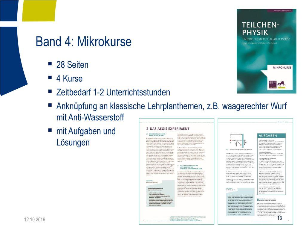 Band 4: Mikrokurse 28 Seiten 4 Kurse Zeitbedarf 1-2 Unterrichtsstunden