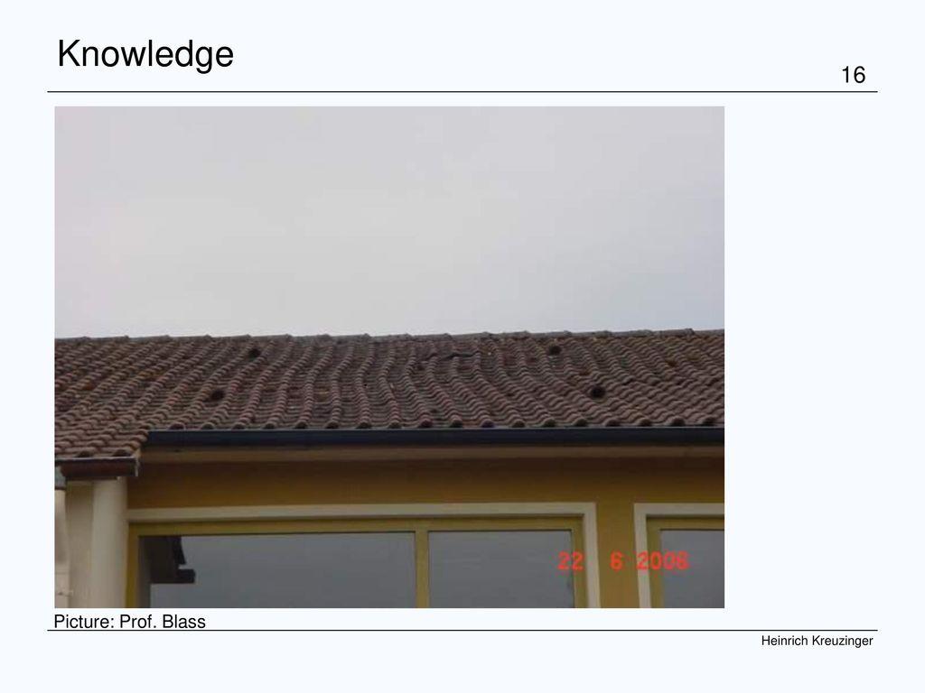 COST Graz 07 Kreuzinger Knowledge . Picture: Prof. Blass