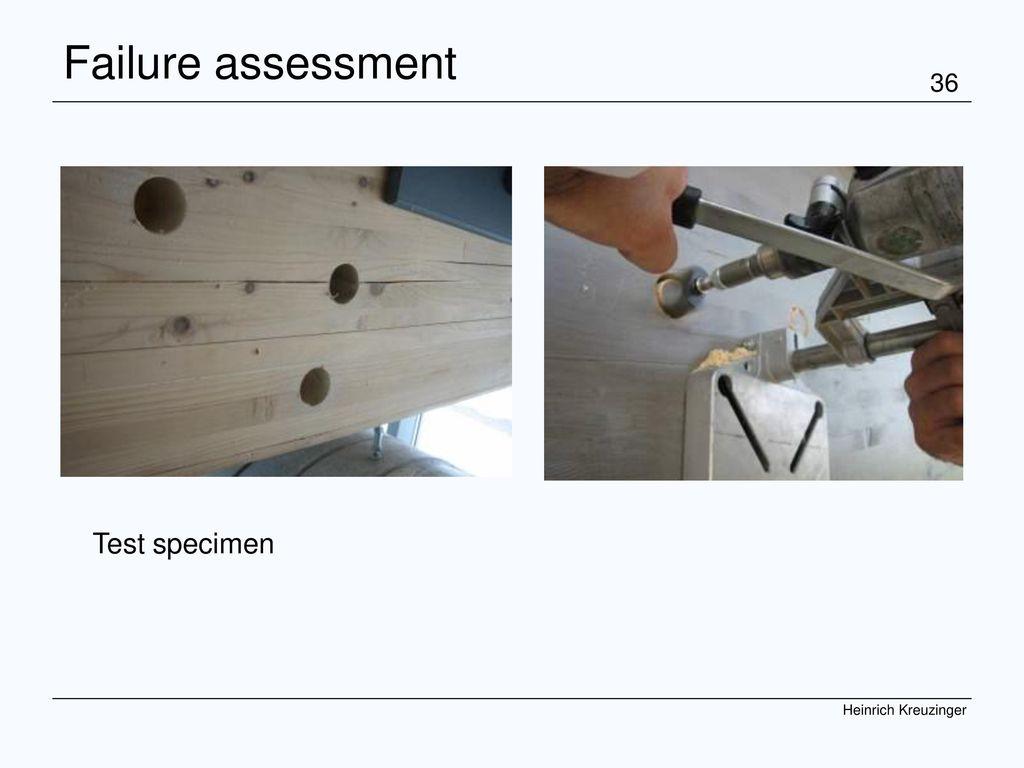 COST Graz 07 Kreuzinger Failure assessment Test specimen