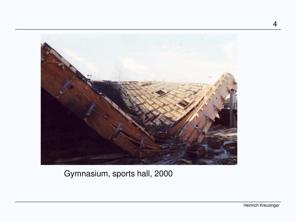 COST Graz 07 Kreuzinger Gymnasium, sports hall, 2000