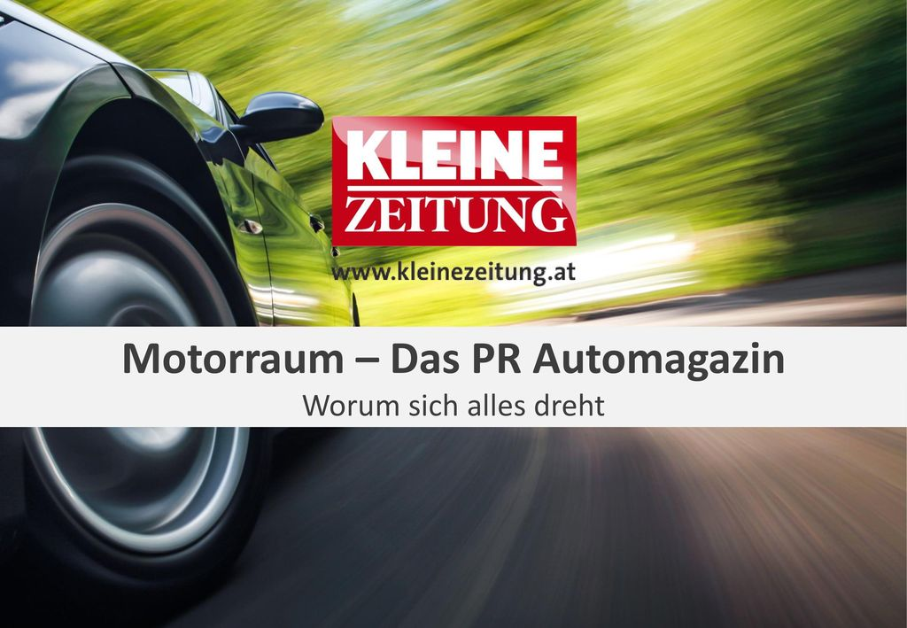 Motorraum – Das PR Automagazin
