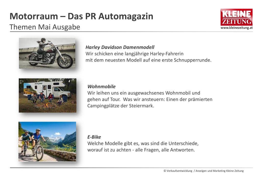 Motorraum – Das PR Automagazin Themen Mai Ausgabe