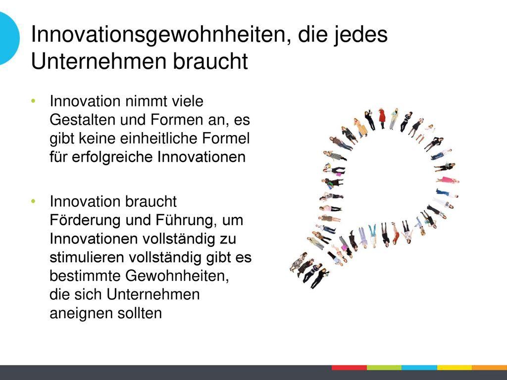 Innovationsgewohnheiten, die jedes Unternehmen braucht
