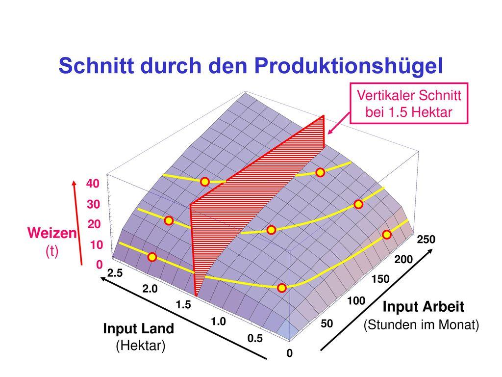 Mathematik der Skalenerträge