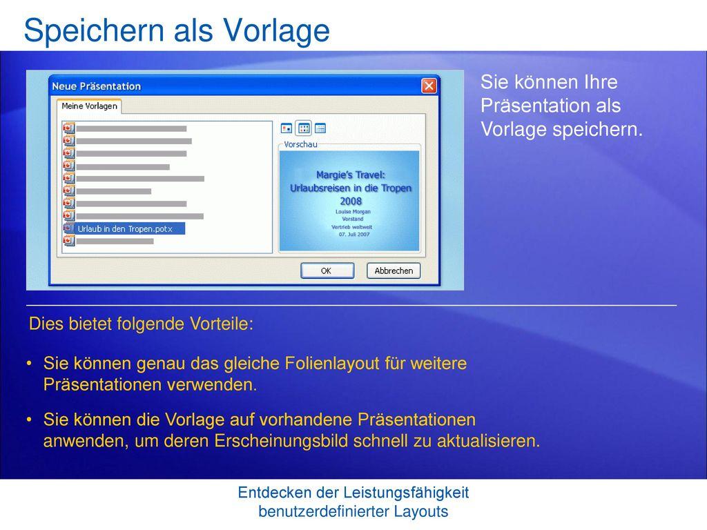 Schulung für Microsoft® Office PowerPoint® ppt herunterladen