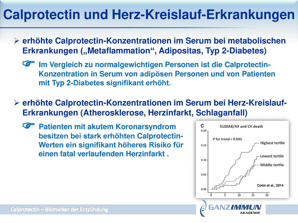 stuhlprobe calprotectin erhöht