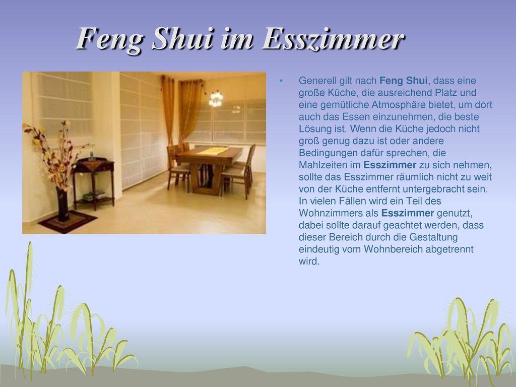 6 Feng Shui Im Esszimmer ...