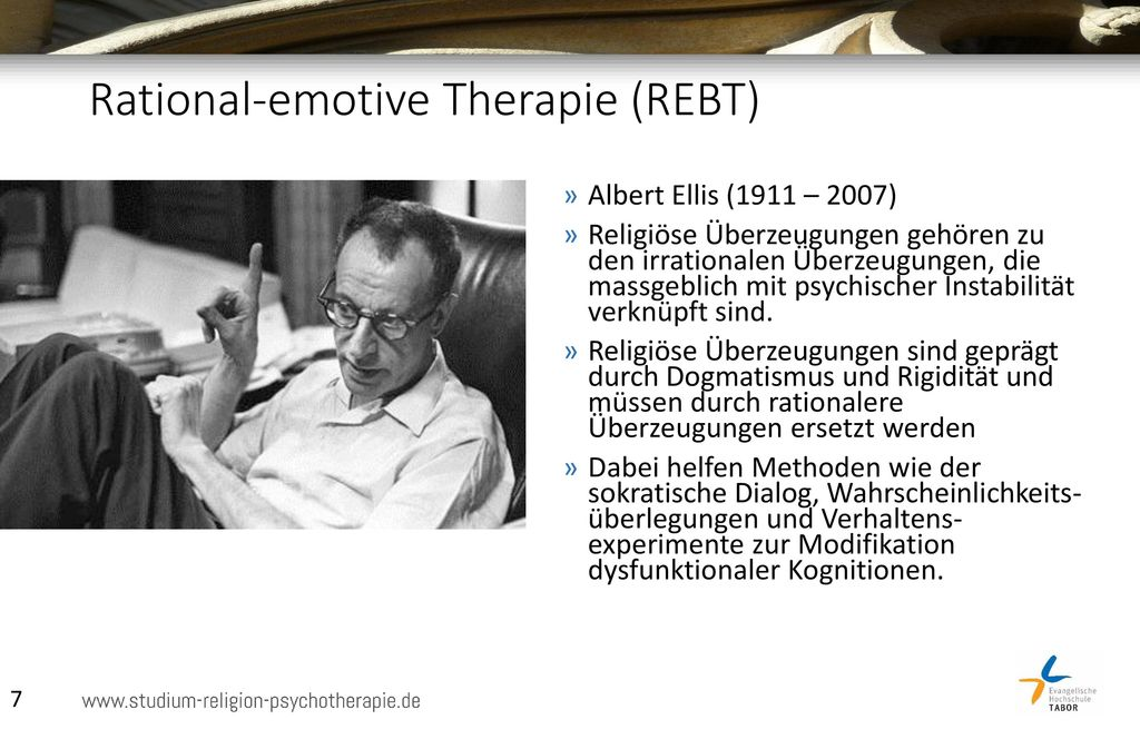albert ellis rational emotive therapy pdf