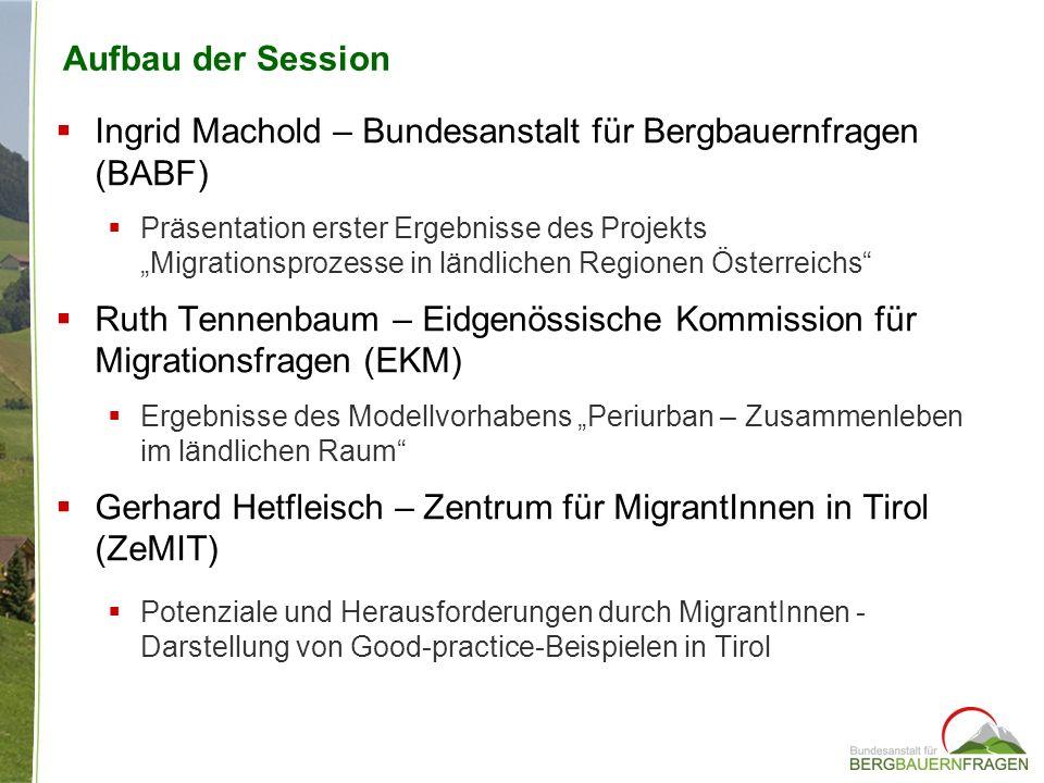 Ingrid Machold – Bundesanstalt für Bergbauernfragen (BABF)