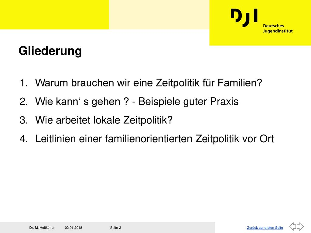 zeitpolitik f r familien ppt video online herunterladen. Black Bedroom Furniture Sets. Home Design Ideas