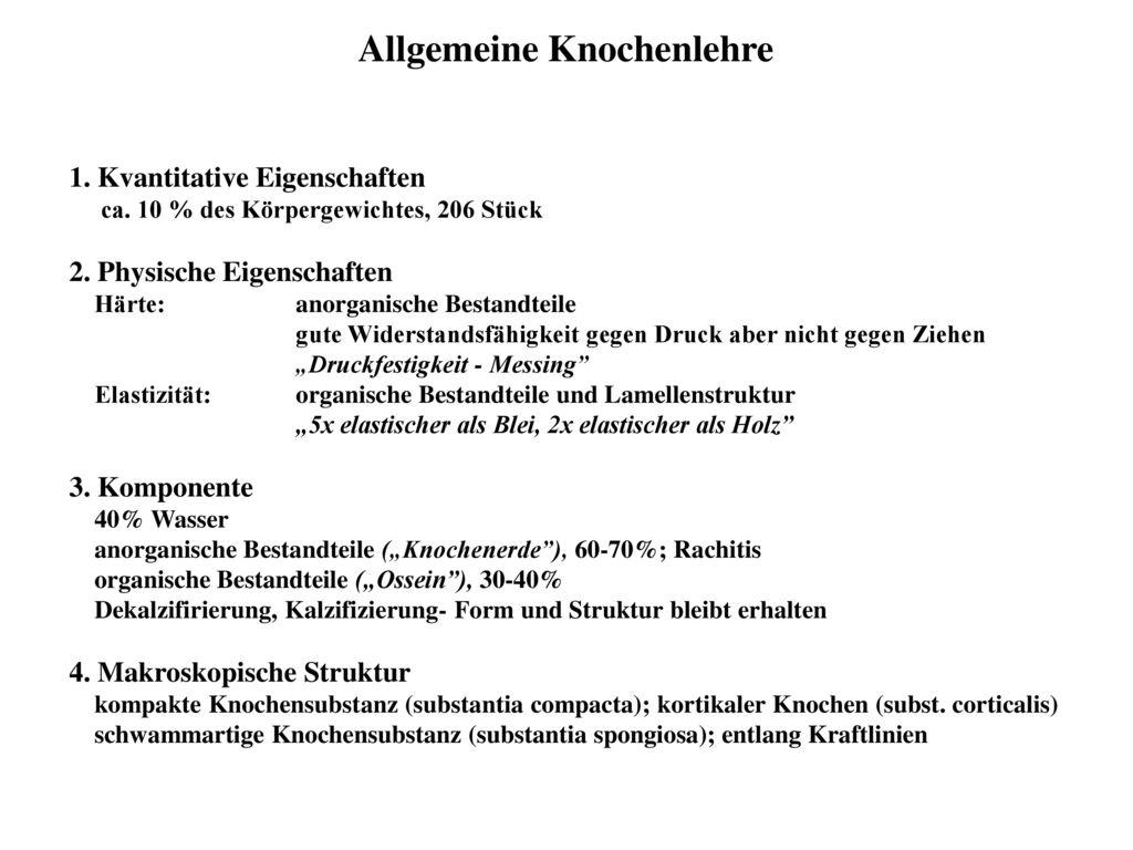 Niedlich Mikroskopische Anatomie Des Kompakten Knochens ...