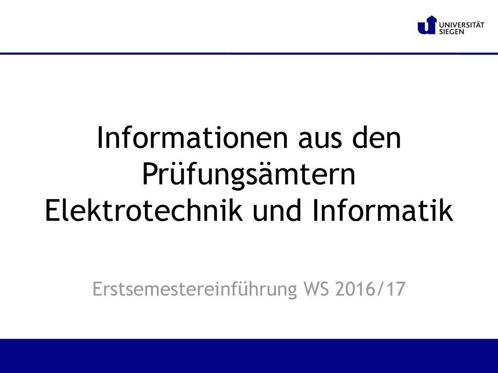 informationen in der informatik