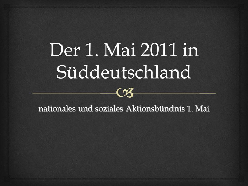 nationales und soziales Aktionsbündnis 1. Mai