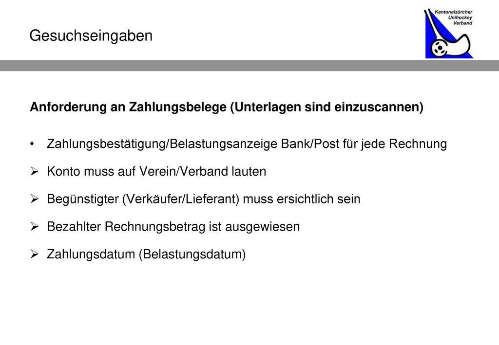Anforderung An Rechnung : unihockey anlass vom in z rich begr ssung ppt herunterladen ~ Themetempest.com Abrechnung