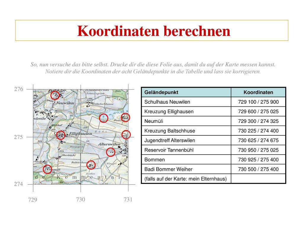Koordinaten Schnittpunkt Berechnen Online : gel ndepunkt einer karte my blog ~ Themetempest.com Abrechnung