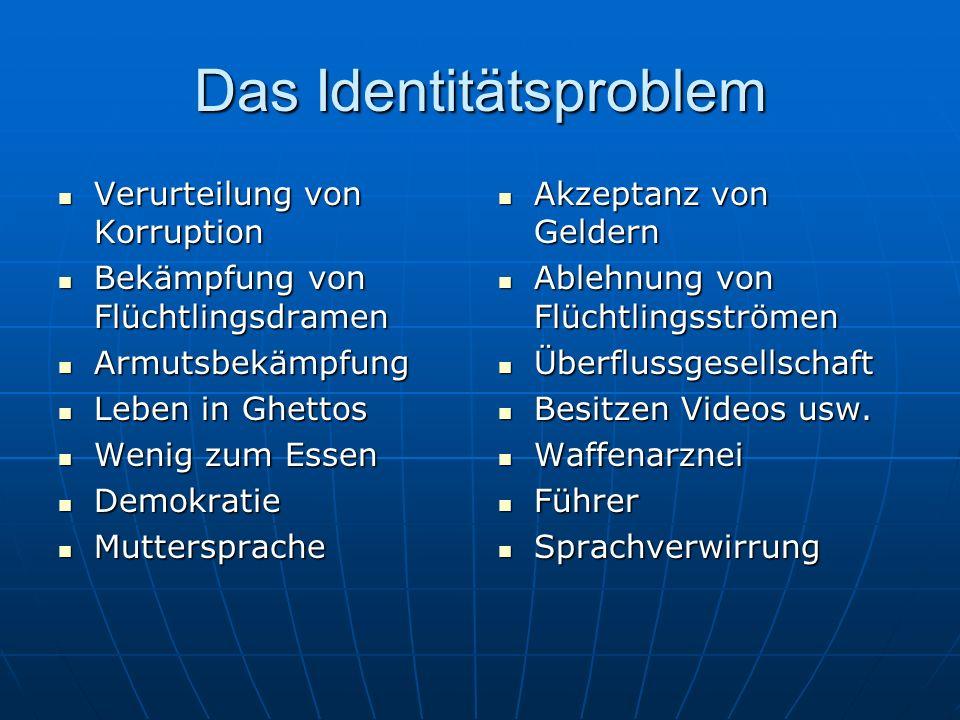 Das Identitätsproblem