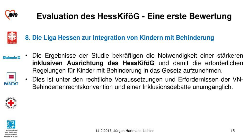Evaluation des HessKiföG - Eine erste Bewertung