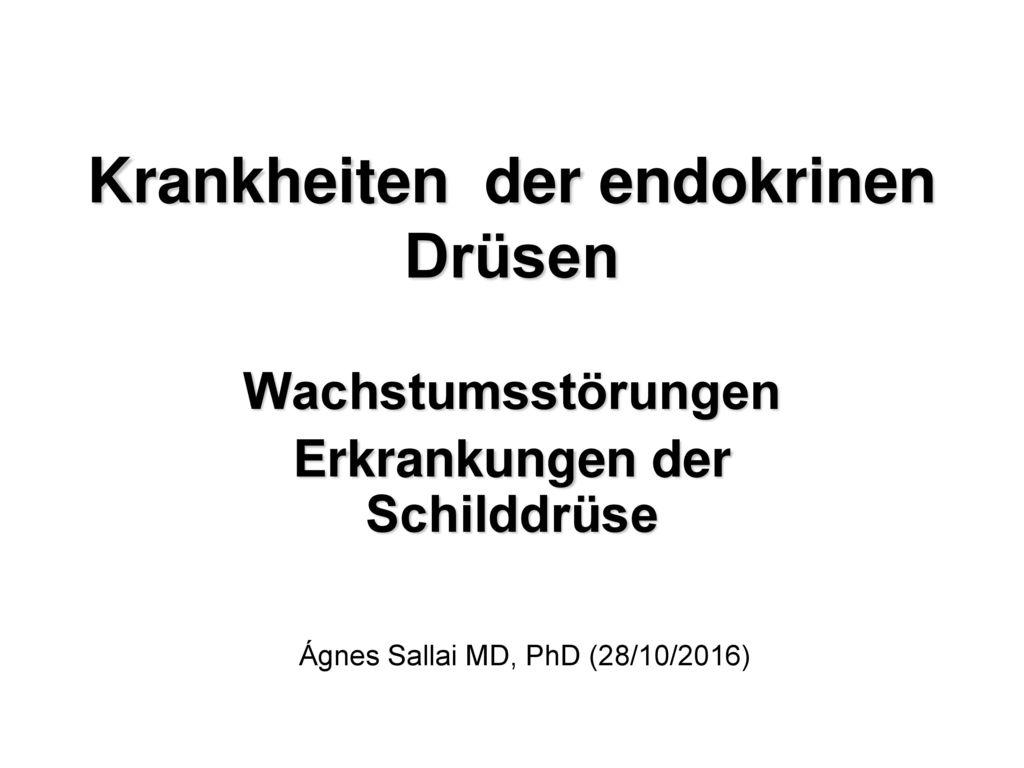 Tolle Endokrine Drüse Ideen - Physiologie Von Menschlichen ...