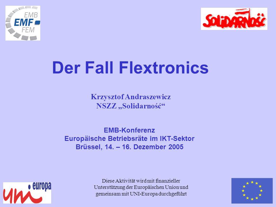 Krzysztof Andraszewicz Europäische Betriebsräte im IKT-Sektor