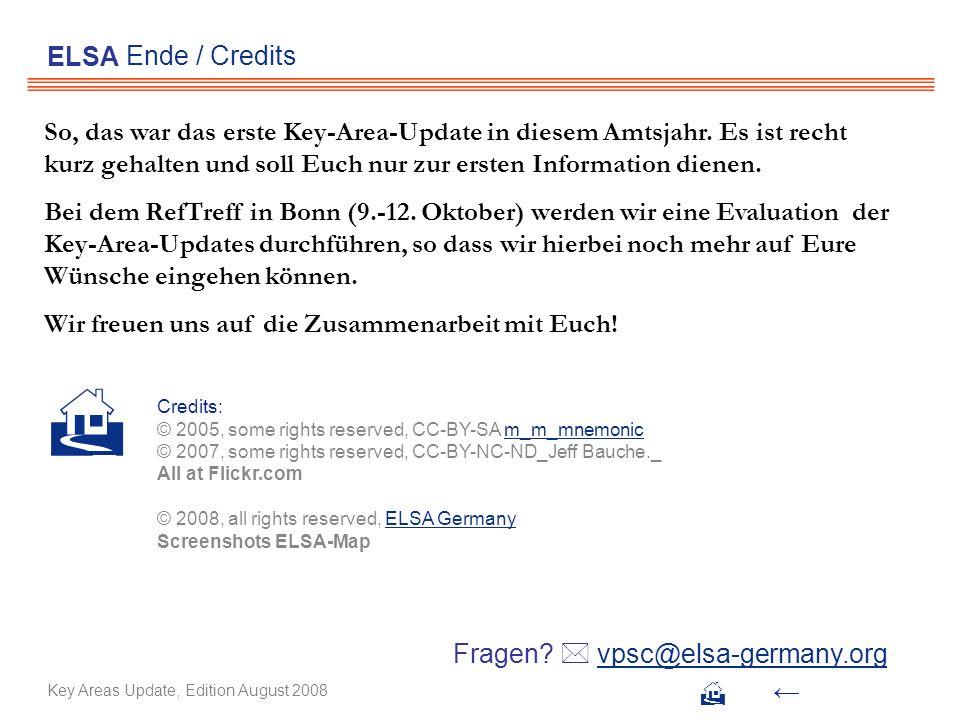 ELSA Ende / Credits.