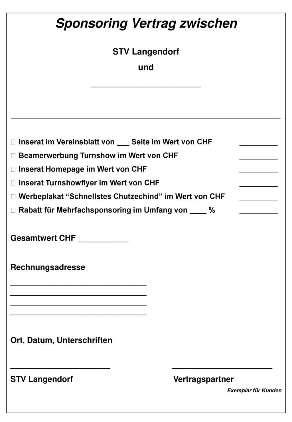 Schön Sponsoring Pakete Vorlagen Galerie - Bilder für das Lebenslauf ...