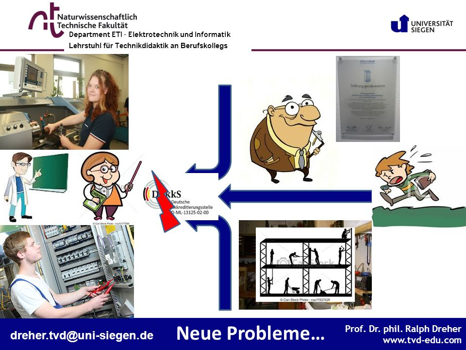 Neue Probleme… dreher.tvd@uni-siegen.de