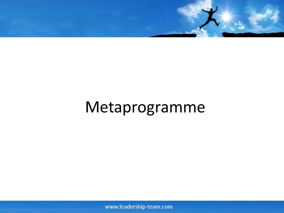 Metaprogramme