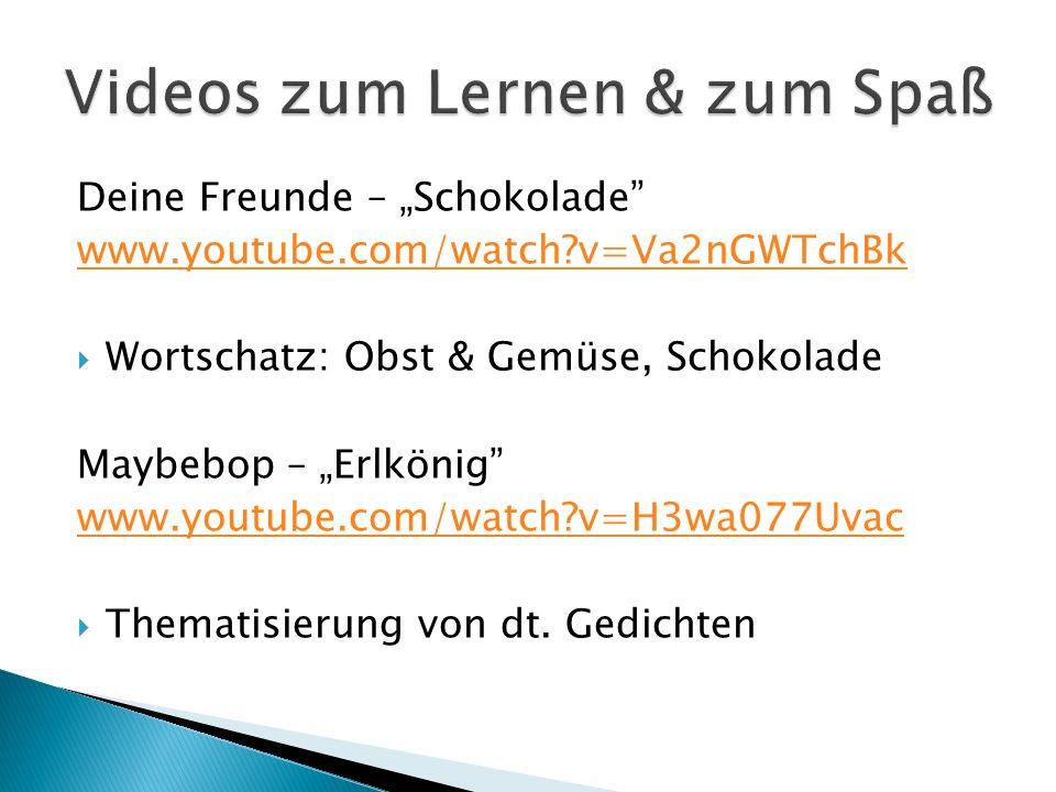 Videos zum Lernen & zum Spaß