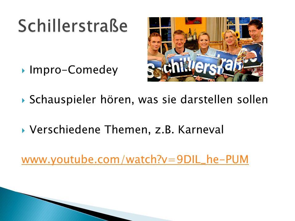Schillerstraße Impro-Comedey