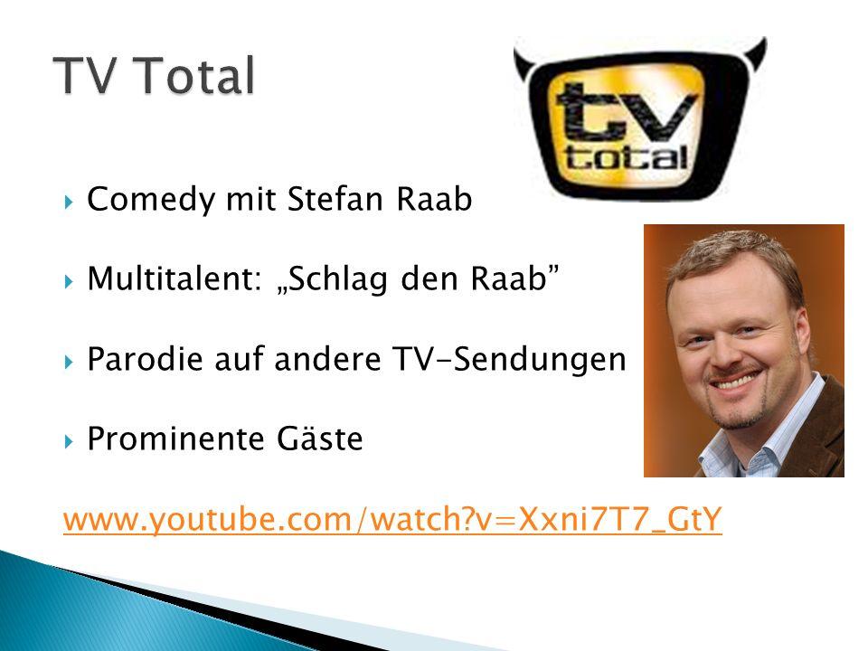 "TV Total Comedy mit Stefan Raab Multitalent: ""Schlag den Raab"