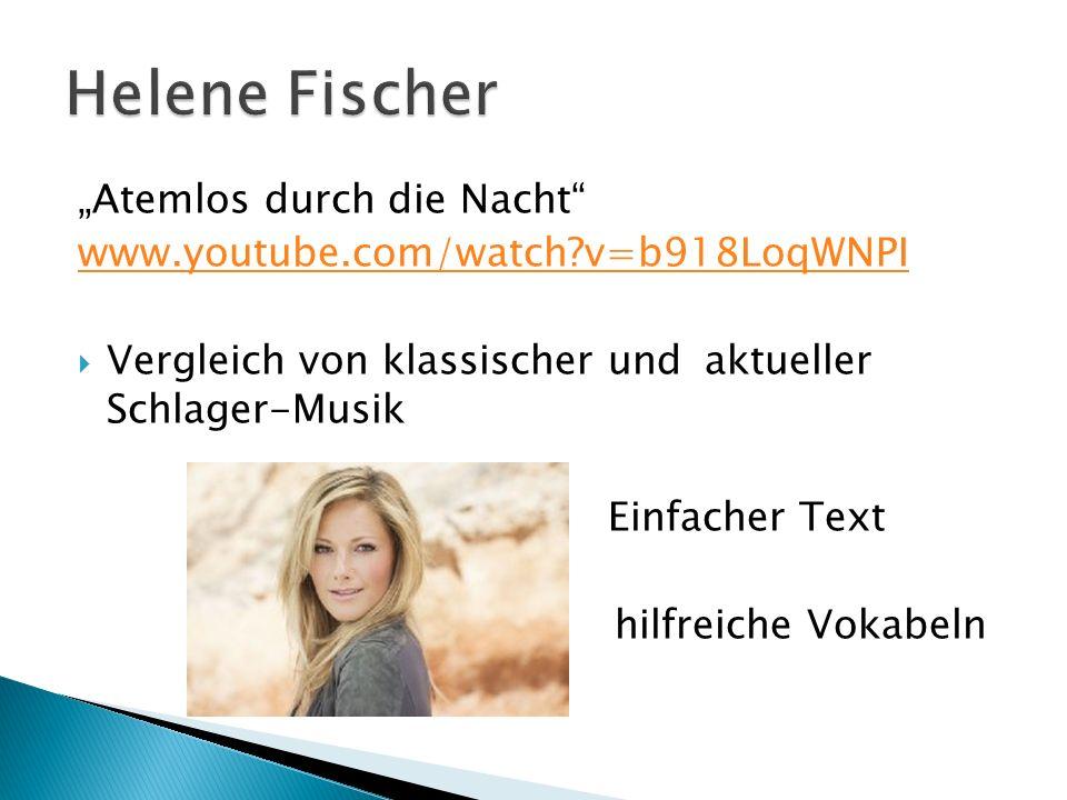 """Helene Fischer """"Atemlos durch die Nacht"""