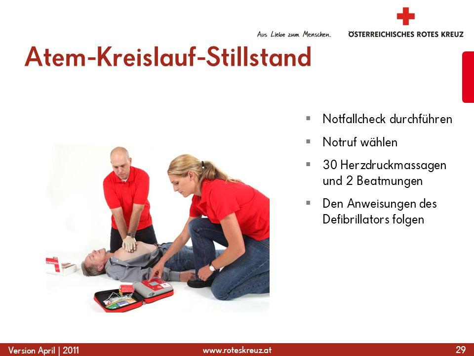 Atem-Kreislauf-Stillstand