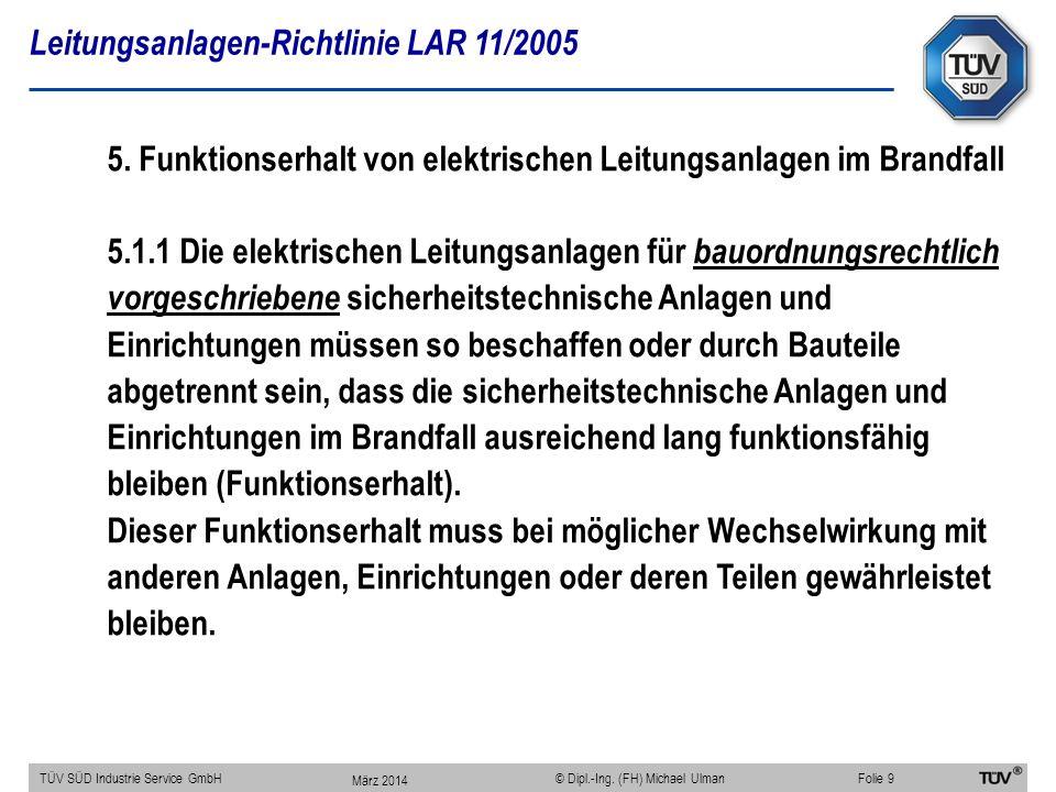 Leitungsanlagen-Richtlinie LAR 11/2005