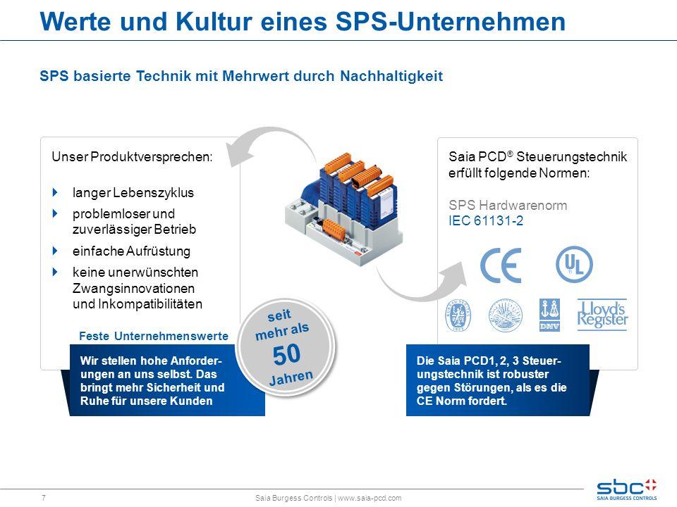 Werte und Kultur eines SPS-Unternehmen