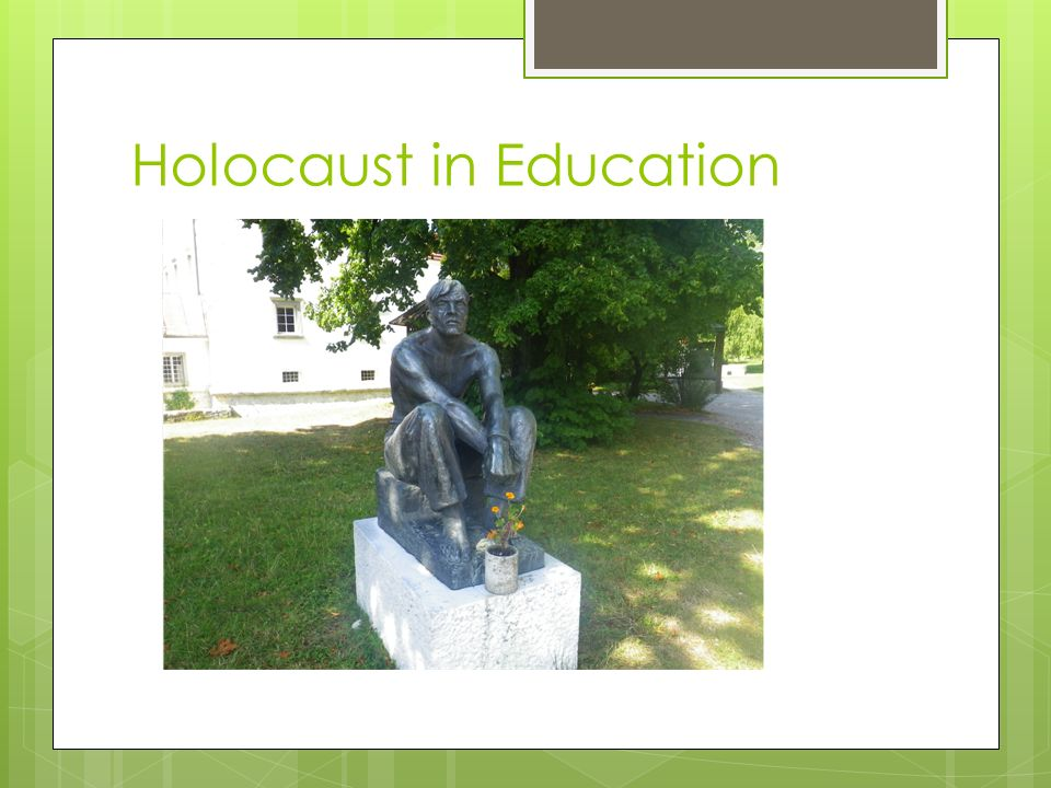 Holocaust in Education