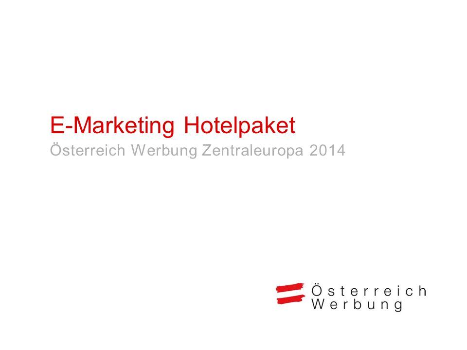 E-Marketing Hotelpaket
