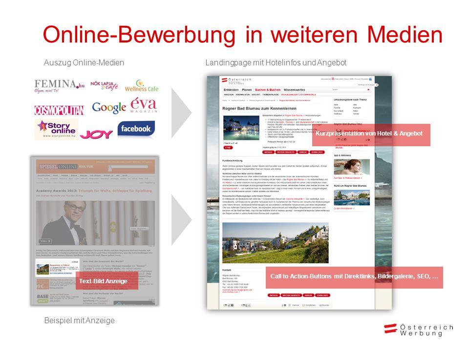 Online-Bewerbung in weiteren Medien