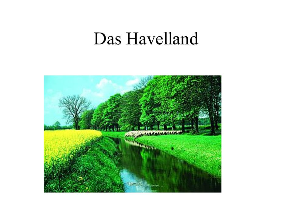 an der Havel Das Havelland