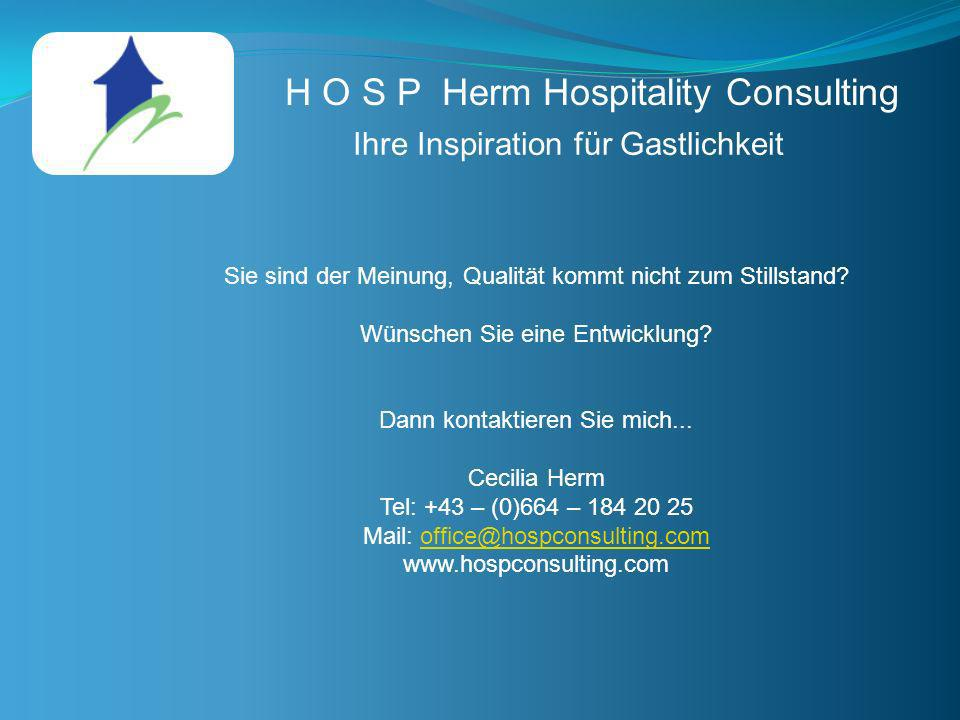 H O S P Herm Hospitality Consulting