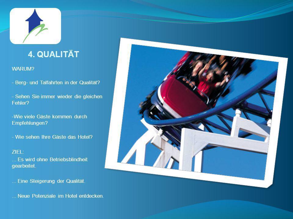 4. QUALITÄT WARUM - Berg- und Talfahrten in der Qualität