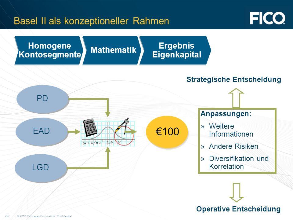 Basel II als konzeptioneller Rahmen
