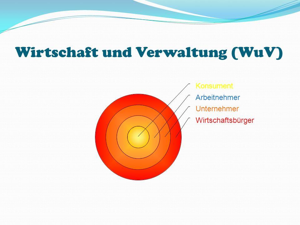 Wirtschaft und Verwaltung (WuV)