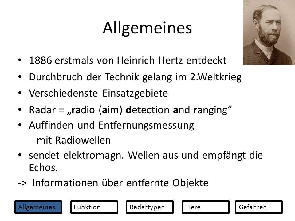 Allgemeines 1886 erstmals von Heinrich Hertz entdeckt